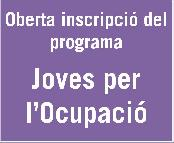Inscripci� Joves per la Ocupaci�