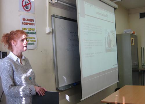 sitio web charla trajes en Mataró