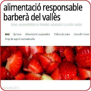 Blog Alimentació responsable Barberà del Vallès