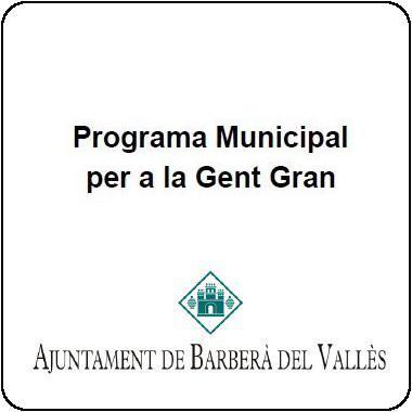 Programa Municipal per a la Gent Gran 2018