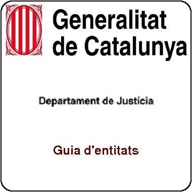 Guia d'entitats del Departament de Justícia de la Generalitat de Catalunya