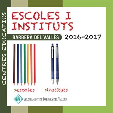 Escoles i instituts 2016-2017