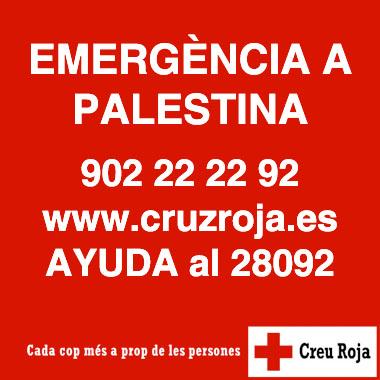 banner palestina creu roja