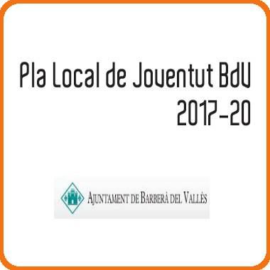 Pla Local de Joventut 2017-2020