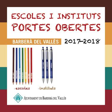 Portes obertes escoles i instituts 2017-2018