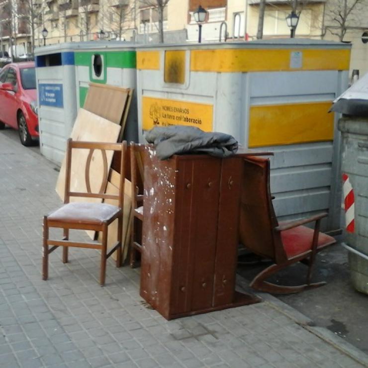 Recogida de muebles para tirar