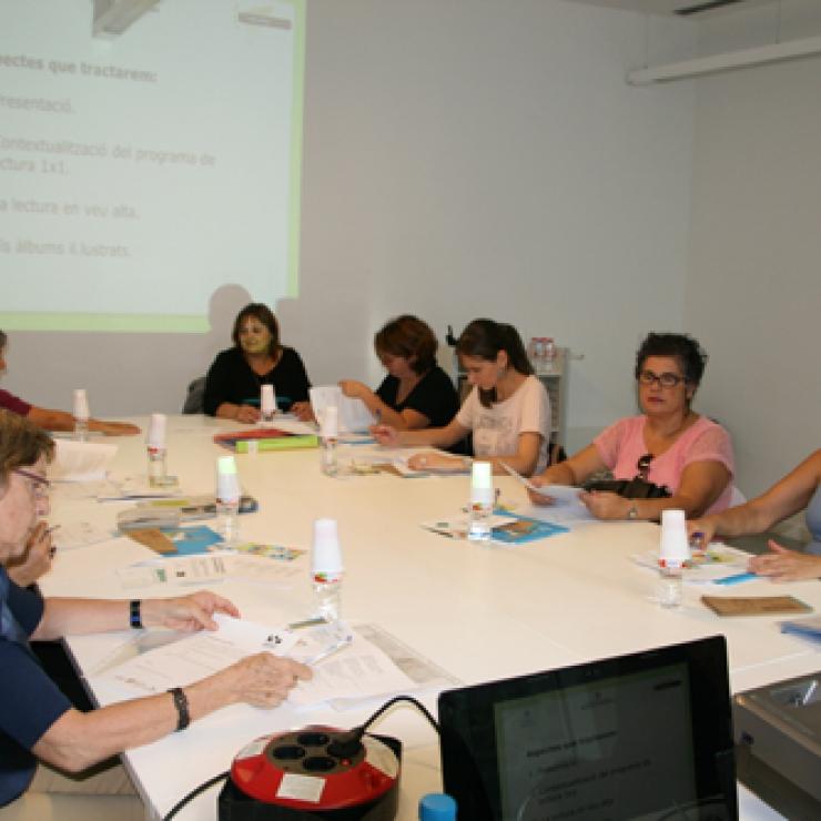 Sessió presentació al voluntariat del 8 d'octubre