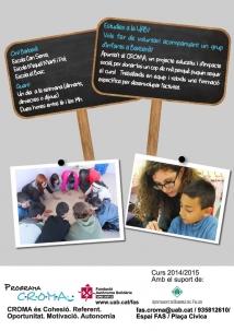 Projecte CROMA curs 2014-15
