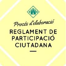 Reglament de Participació Ciutadana