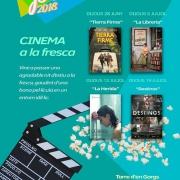 Cinema a la fresca a la Torre d'en Gorgs