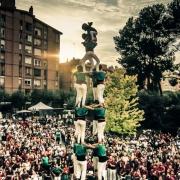 Castellers a la Festa Major 2014