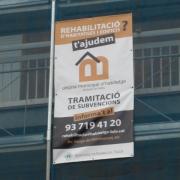Pancarta rehabilitació